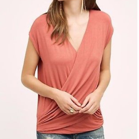 Bordeaux Tops - Anthropologie Bordeaux Top